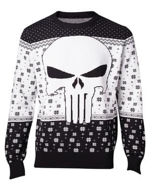 Sweater julig Punisher vuxen - Marvel