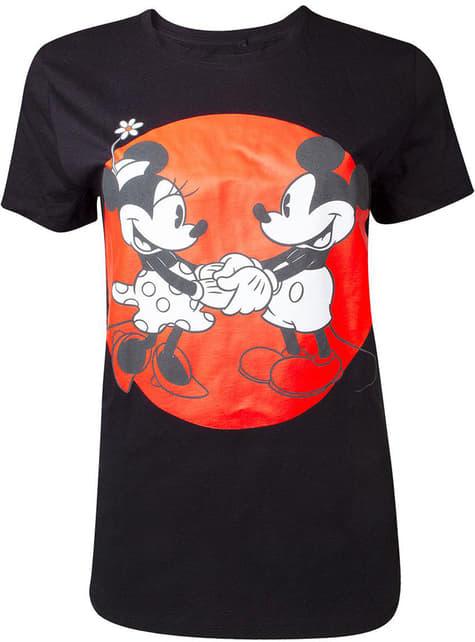 Unisex Mikke og Minni Mus Love T-Skjorte til voksne - Disney