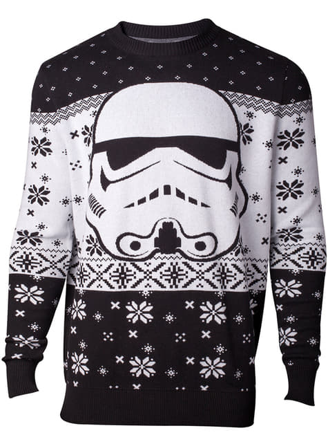 Camisola de Stormtrooper natalício para homem - Star Wars
