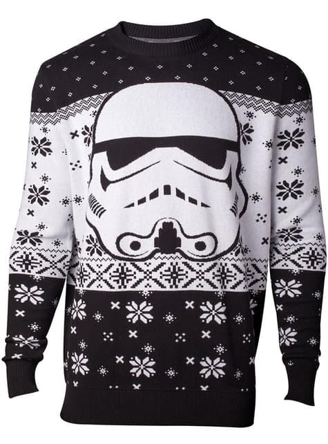 Stormtrooper Christmas jumper for men - Star Wars
