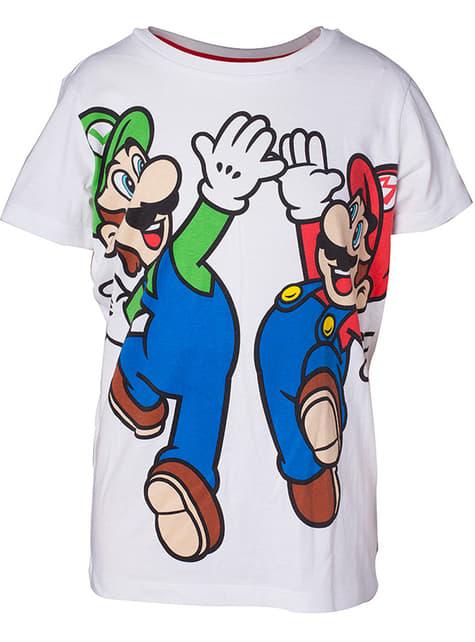 Camiseta de Mario y Luigi para niño - Super Mario Bros