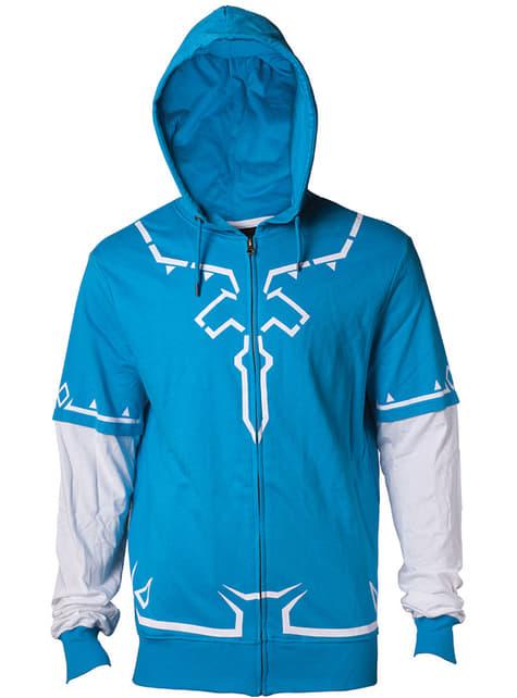 Blue Zelda hoodie for men - The Legend of Zelda