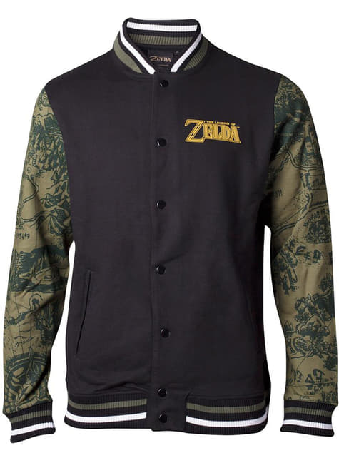 Legend of Zelda takki kuviollisilla hihoilla miehille