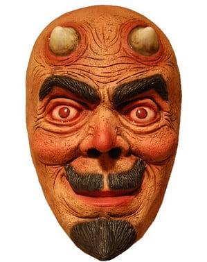 Máscara de diablo ojos rojos