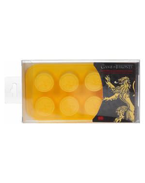 Molde de silicona para cubitos de hielo del logo Casa Lannister - Juego de Tronos