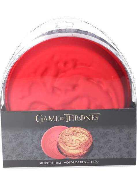 Molde de silicona para horno de Casa Targaryen - Juego de Tronos - para tus fiestas