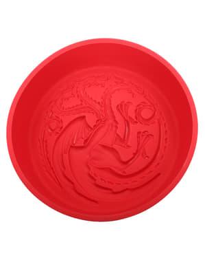 Molde de silicone para forno de Casa Targaryen - Game of Thrones