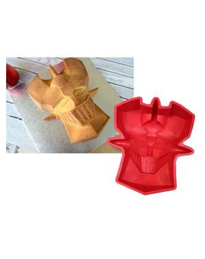Molde de silicone para forno da cara de Mazinger Z