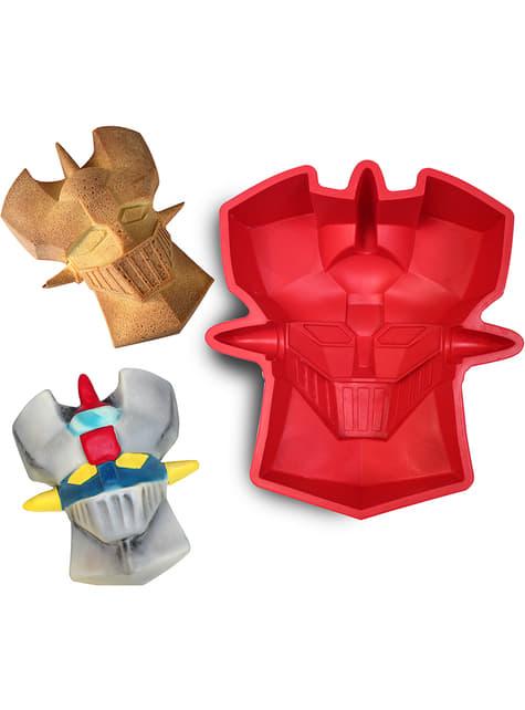 Molde de silicona para horno de la cara de Mazinger Z