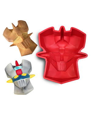 Mazinger Z face silicone oven tray