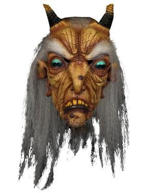 Maschera capra-strega infernale