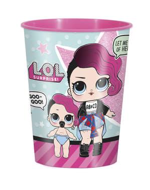 Твърд пластмасова чаша - LOL изненада