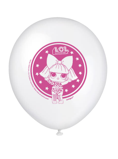8 globos de látex LOL Surprise (47cm) - LOL Friends - barato