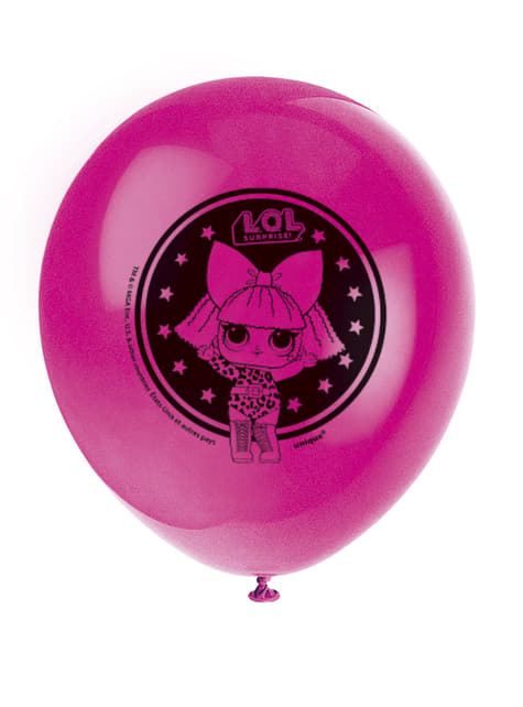 8 globos de látex LOL Surprise (47cm) - LOL Friends - comprar