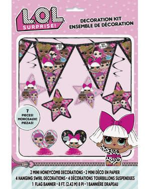 Kit de decoração LOL Surprise - LOL Friends