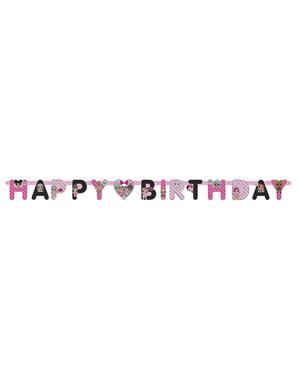 Festone Buon compleanno LOL Surprise - LOL Friends