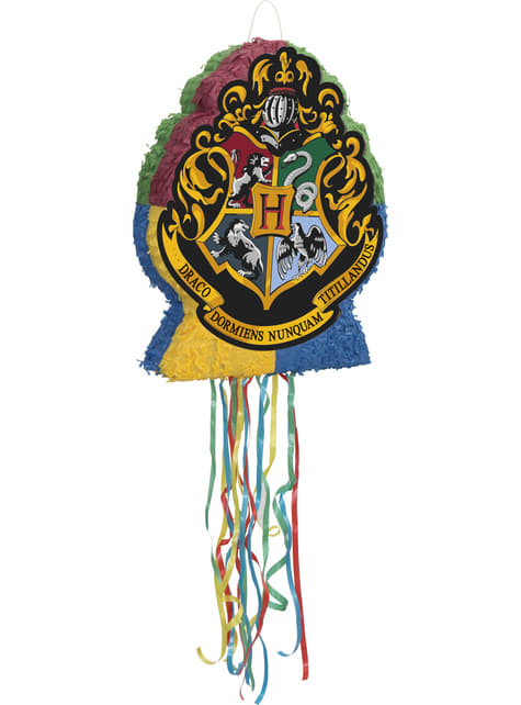 Piñata del escudo de Hogwarts Harry Potter - Hogwarts Houses