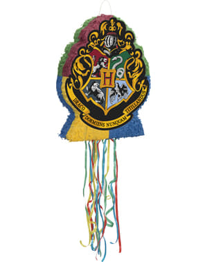 Hogwarts shield pinata - Harry Potter