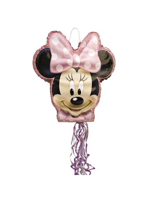 Pink Minnie Mouse pinata
