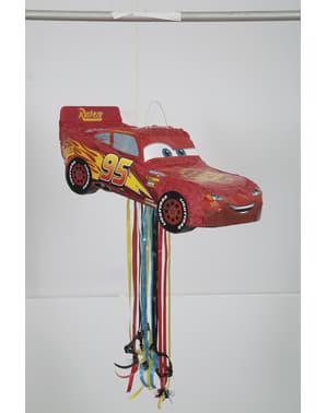 Rød Lightning McQueen pinata - Biler