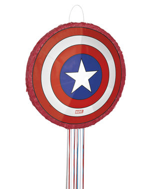 Captain America skjold pinata