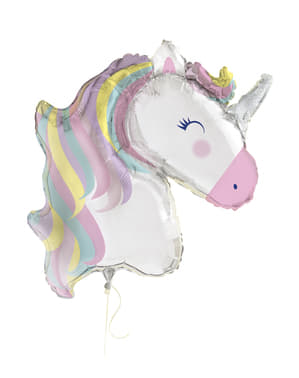 Globo de foil de unicornio (106cm) - Happy Unicorn
