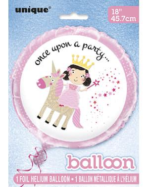 Prinsessballong i folie – Magical Unicorn