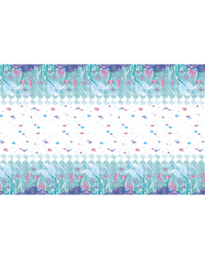 Meerjungfrauflossen Tischdecke - Sirene unter dem Meer