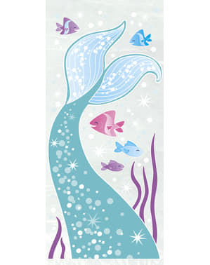 20 mermaid tail sweet bags - Mermaid under the sea