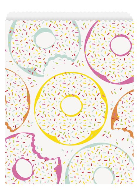 8 bolsas para chucherías - Donut Party