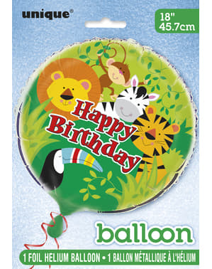 Jungle Animals Folie Ballonnen - Animal Jungle