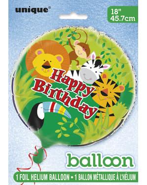 Djungeldjur ballong - Animal Jungle
