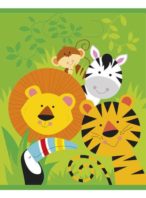 8 bolsas para chucherías - Animal Jungle