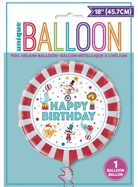 Ballon en aluminium - Circus Carnival