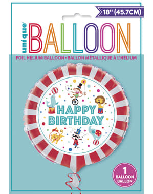 Ballon cirque en aluminium - Circus Carnival