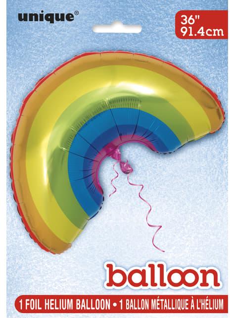 Balão de foil arco-íris