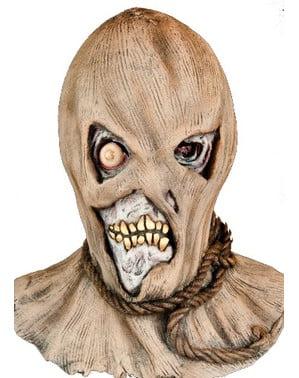 Máscara de espantalho assustador