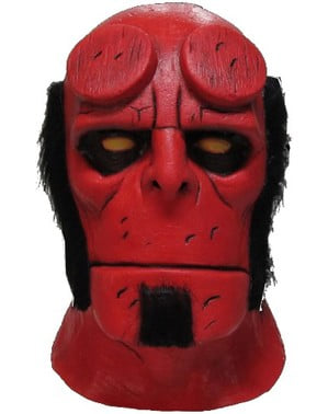 Máscara de Hellboy Halloween