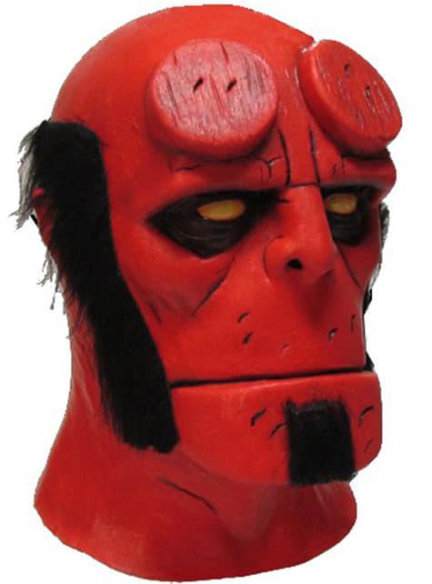 Halloweenská maska Hellboy