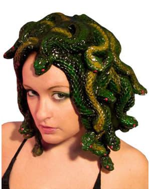 Perruque méduse sculptée