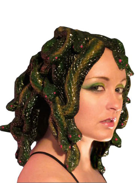 Sculpted Medusa wig