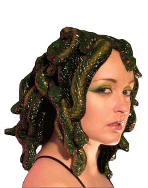 Geboetseerde Medusa pruik