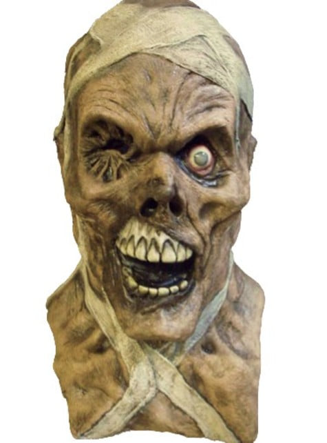 Máscara de momia maldita