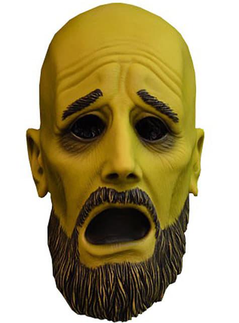 Máscara de fantasma asustadizo