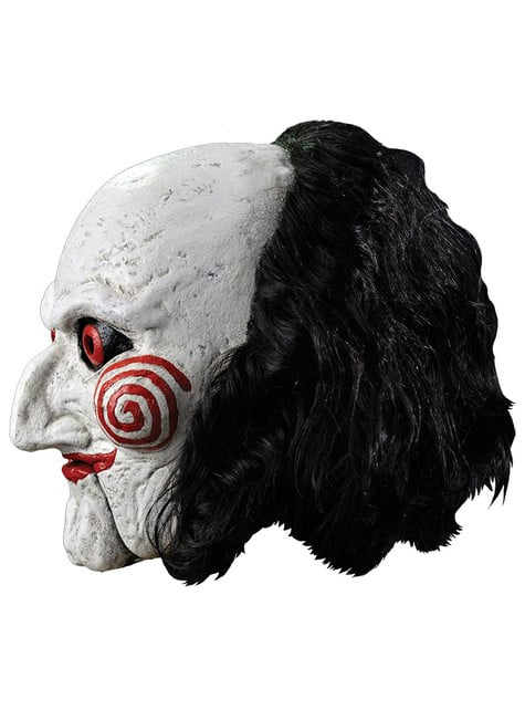 Mask dockan Billy från Saw