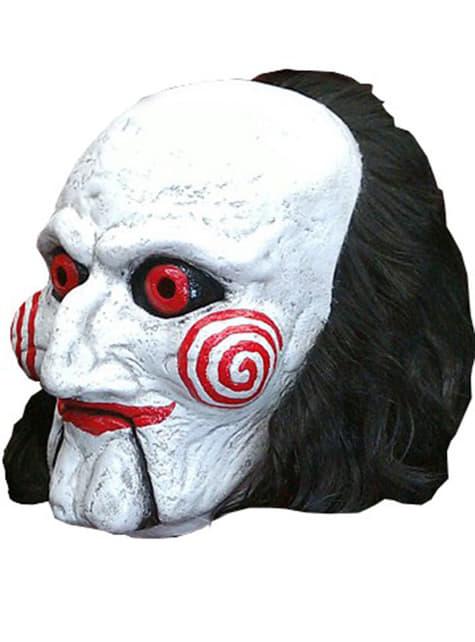 Máscara del títere Billy de Saw - Halloween