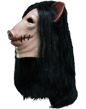 Schwein Maske Saw