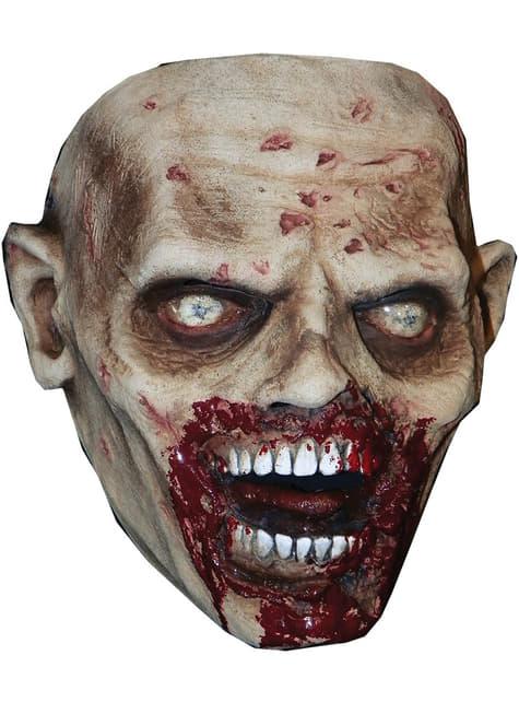 Máscara de caminhante faminto The Walking Dead