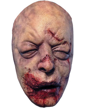 Maske blutender Zombie The Walking Dead