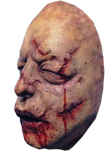 Máscara de caminante sangriento The Walking Dead - para tu disfraz